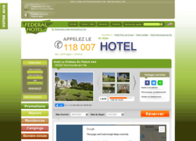 Hotel-chateau-pelave-noirmoutier-en-ile.federal-hotel.com
