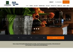 hotel-christina-lourdes.com