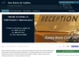 hotel-des-bains-saillon.h-rez.com