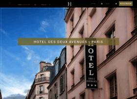 hotel-des-deux-avenues.com