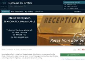 hotel-domaine-du-griffier.h-rez.com