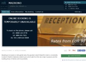 hotel-el-madrono-madrid.h-rez.com