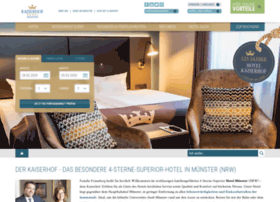 hotel-kaiserhof-muenster.de
