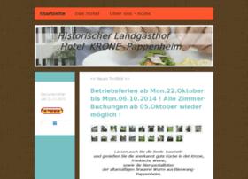 hotel-krone-pappenheim.de