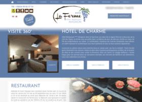 hotel-laferme-avignon.com