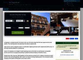 hotel-le-napoleon-lille.h-rez.com