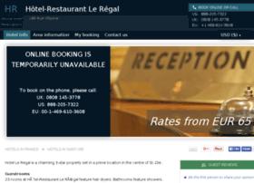 hotel-le-regal-saint-die.h-rez.com