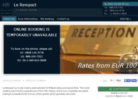 hotel-le-rempart-tournus.h-rez.com