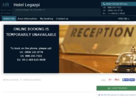 hotel-legazpi-murcia.h-rez.com