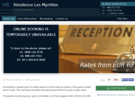 hotel-les-myrtilles-vars.h-rez.com