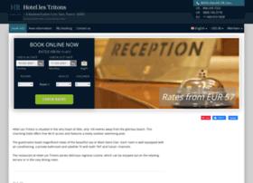 hotel-les-tritons-sete.h-rez.com