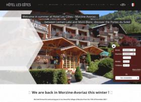 hotel-lescotes.com