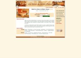 hotel-lesrives-de-notredame.com