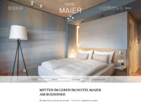 hotel-maier.de