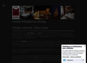 hotel-moderne-arras.com