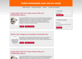 hotel-normandie.com