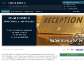 hotel-pacific-rome.h-rez.com