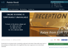 hotel-pointe-rivoli-paris.h-rez.com