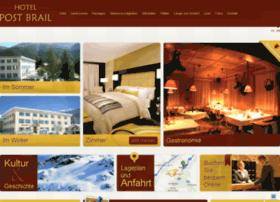 hotel-post-brail.ch