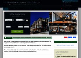 hotel-quartier-quebec.h-rez.com