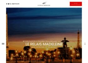 hotel-relais-madeleine.com