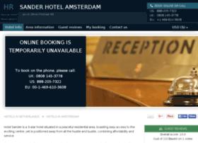 hotel-sander-amsterdam.h-rez.com