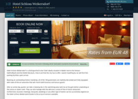 hotel-schloss-weikersdorf.h-rez.com