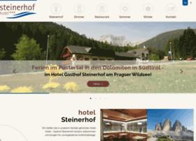 hotel-steinerhof-pustertal.com