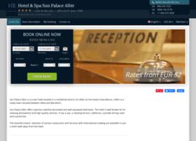 hotel-sun-palace-albir.h-rez.com