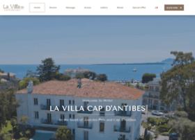 hotel-villa-antibes.com