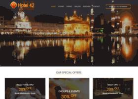hotel42amritsar.com