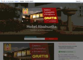 hotelabahunza.com
