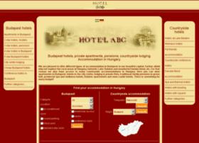 hotelabcbudapest.hu