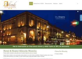 hotelallendemorelia.com