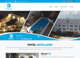 hotelantillano.com