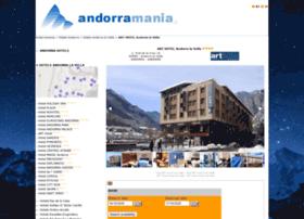 hotelarthotel.andorramania.com