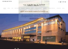 hotelarzuaga.com