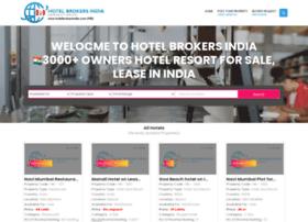 hotelbrokersindia.com