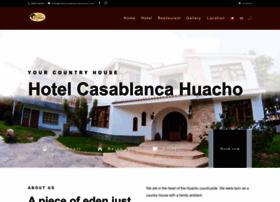 hotelcasablancahuacho.com
