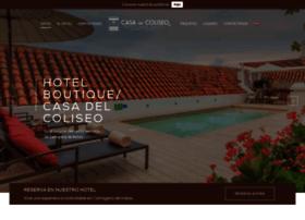 hotelcasadelcoliseocartagena.com