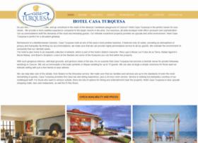hotelcasaturquesa.com