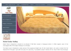hotelcedarvalley.com