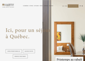 hotelchateaulaurier.com