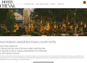 hotelcheval.com
