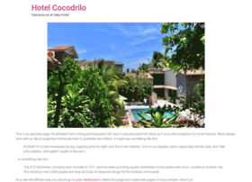 hotelcocodrilo.com