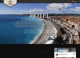 hotelcomtedenice.com