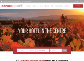 hotelcondesdeharo.com