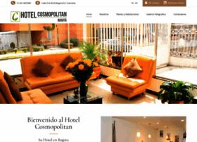 hotelcosmopolitanbogota.com