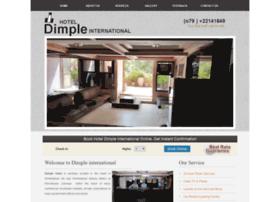 hoteldimpleinternational.com