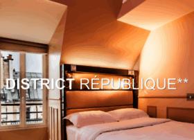 hoteldistrictrepublique.com